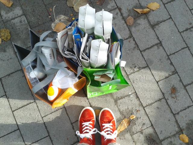 återvinning, Resole Skåne sneakers